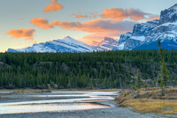 Saskatchewan River Dawn, Kootenay Plains, David Thompson Country, Alberta