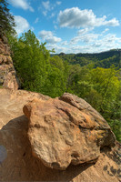 The Gorge from Double Arch, Red River Gorge, Daniel Boone National Forest, Kentucky