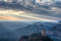 Point Imperial Sunrise, Grand Canyon National Park-North Rim, Arizona