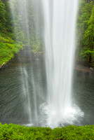 Behind South Falls, Silver Falls State Park, Oregon