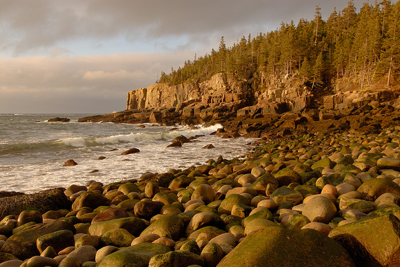 Otter Cliffs Sunrise, Acadia National Park, Maine