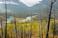 Bow River Muleshoe from the Muleshoe Trail, Banff National Park, Alberta