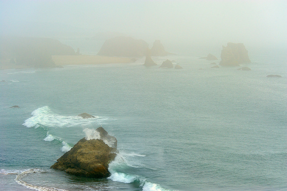 """Bandon Beach Blues,"" Coquille Point, Oregon Islands National Wildlife Refuge, Oregon"