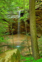 Ash Cave Waterfall, Hocking Hills State Park, Ohio