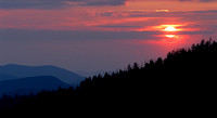 Sunset, Clingman's Dome, Great Smoky Mountains National Park, Tennessee/North Carolina