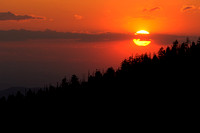 Clingman's Dome Sunset, Great Smoky Mountains National Park, Tennessee/North Carolina
