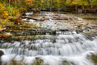 Au Train Falls, Alger County, Michigan
