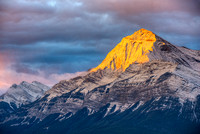 Elliot Peak at Sunrise, David Thompson Country, Alberta