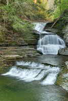 Falls by the Old Mill, Robert H. Treman State Park, New York