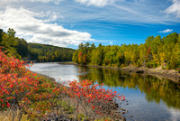 Kennebec River, Somerset County, Maine