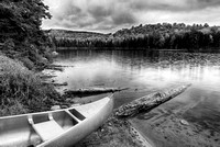 Osmore Pond Black & White, Groton State Forest, Vermont