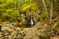 Kinsman Falls, Basin-Cascades Trail, Franconia Notch State Park, New Hampshire