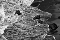 Crescent Beach Black & White, Del Norte County, California