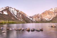 Convict Lake at Dawn, Inyo National Forest, California