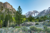 June Lake Loop at Dusk, Inyo National Forest, California