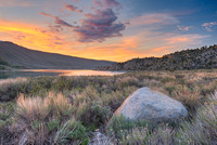 Grant Lake Overlook at Sunset, June Lake Loop, Inyo National Forest, California