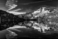 Silver Lake Black & White, June Lake Loop, Inyo National Forest, California