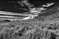 Mono County Afternoon Black & White, California