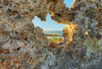 Tufa Window, Mono Lake, Mono County, California