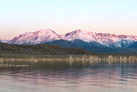 Mono Lake and the Sierra-Nevada at Dawn, Mono County, California