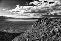 Mono Lake from Panum Crate Black & White, Mono County, California