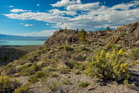 Mono Lake from Panum Crater, Mono County, California