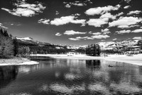 Silver Lake Black & White, Eldorado National Forest, California