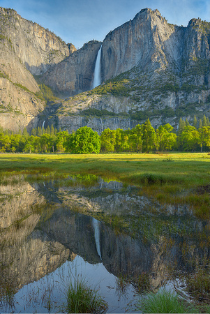 Yosemite Falls from Cook's Meadow, Yosemite National Park, California