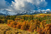 Sneffels Range, County Road 7, Uncompahgre National Forest, Colorado