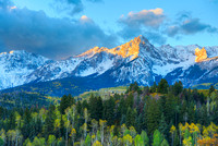 Sneffels Range Morning, County Road 9, Uncompahgre National Forest, Colorado