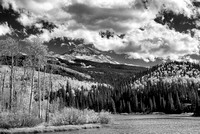 Woods Lake Black & White, Uncompahgre National Forest, Colorado