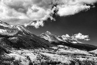 Mountain View Black & White, Uncompahgre National Forest, Colorado