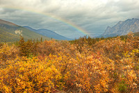 Rainbow, Northern Dalton Highway, Brooks Range, Alaska