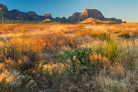 Chisos Mountains Morning, Big Bend National Park, Texas