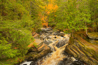 Sturgeon River, Canyon Falls Roadside Park, Baraga County, Michigan