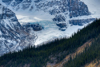 Mt. Athabasca & Athabasca Glacier, Columbia Icefields, Jasper National Park, Alberta