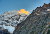 Mt. Edith Cavell at Sunset, Jasper National Park, Alberta