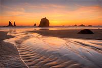 China Creek Beach Sunset, Samuel H. Boardman State Park, Oregon