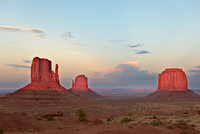 The Mittens and Merrick Butte, Monument Valley Navajo Tribal Park, Arizona