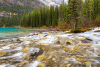 Inlet Stream, Morrine Lake, Banff National Park, Alberta