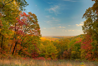 Autumn Overlook, Brown County State Park, Indiana