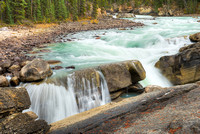 Lower Sunwapta Falls, Jasper National Park, Alberta
