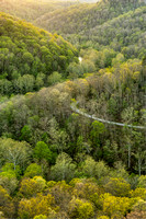 The Gorge from Chimney Rock Overlook, Red River Gorge, Daniel Boone National Forest, Kentucky