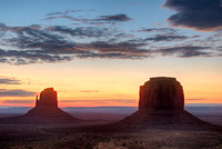 East Mitten and Merrick Butte #1, Monument Valley Navajo Tribal Park, Arizona