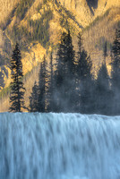 Wapta Falls Intimate, Yoho National Park, British Columbia