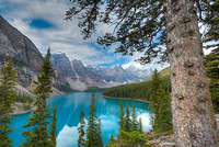 Moraine Lake from the Rock Pile, Banff National Park, Alberta