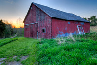 Old Barn at Sunset, Adams County, Ohio