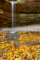 LaSalle Falls, LaSalle Canyon, Starved Rock State Park, Illinois