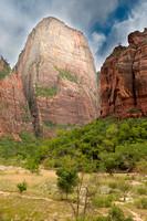 The Great White Throne, Zion Canyon, Zion National Park, Utah