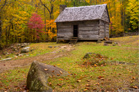 Roaring Fork Cabin, Great Smoky Mountains National Park, Tennessee